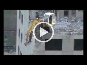 Pfuschprofis - Profi Pfusch am Bau bagger-als-arbeitsbuehne-300x225